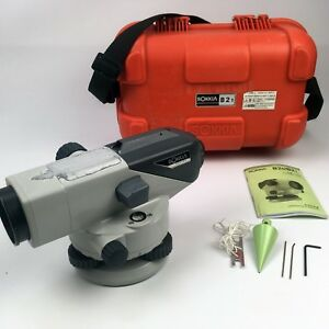 Sokkia B21 Automatic Level Engineering Surveying 30x Magnification W Hard Case