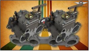 Suits Datsun L16 L18 L20 Fajs Twin 45 Dcoe Weber Typ Sidedraft Carburettor Kit