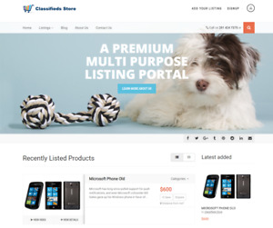 Exclusive Classified Website Business For Sale Mobile Friendly