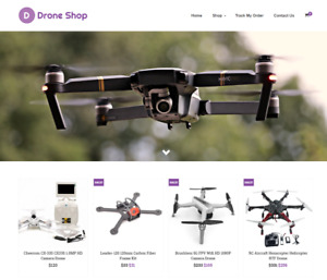 Established Drones Turnkey Website Business For Sale Profitable Dropshipping