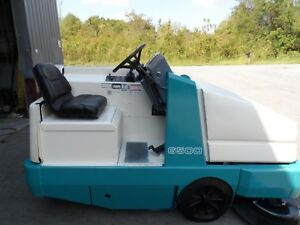 Tennant 6500 Sweeper Very Low Hrs 325 Totally Serviced