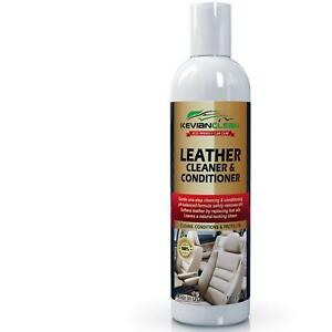 Leather Cleaner Conditioner Upholstery Protect Car Seat Furniture Safe Auto Care