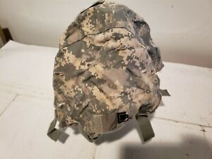 ACH Helmet Cover US Military Issue ACU Digital Large Extra Large IR Tabs Good