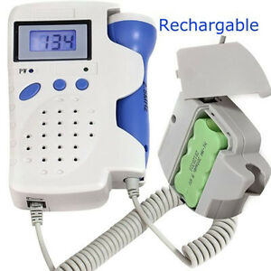 Angelsounds Jpd 100b Fetal Doppler 3mhz W battery Charger Gel New Approved Fda