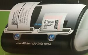 Dymo Label Writer 450 Twin Turbo Label Postage Printer New