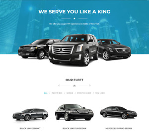 Exclusive Limo Services Website Business For Sale Mobile Friendly
