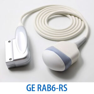 New Ge Rab6 rs Convex Probe 3d 4d Abdominal Ultrasound System Transducer