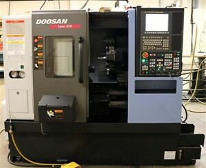 Doosan Lynx 220a Cnc Turning Center