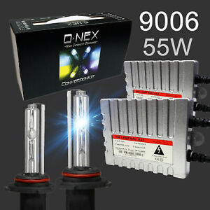 A1 Xenon Hb4 9006 Hid Kit Ac 55w Premium Slim Ballast Bright Headlight Bulbs