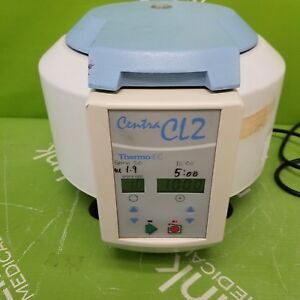 Thermo Iec Centra Cl2 Benchtop Centrifuge W 4 Place Rotor