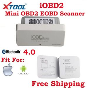 Xtool Iobd2 Mini Obd2 Eobd Code Scanner Support Bluetooth 4 0 For Ios Android