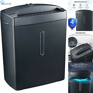 Micro cut Paper Shredder Thermal Protection 6 sheet High security Office Home