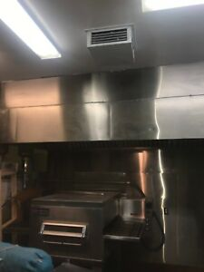 5 x12 Stainless Steal Restaurant Hood W Traps