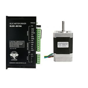 Brushless Dc Motor Nema17 42blf02 52w 24v 4000rpm 3phase driver Cnc Medical