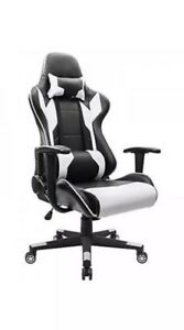 Executive Swivel Leather Gaming Chair Racing Style High back Office Homall