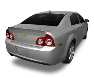 Unpainted Spoiler Wing No Drill 3m Tape Install For Chevy Malibu 2008 2012