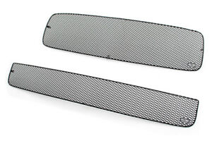 Grillcraft Mx Black Upper Lower Mesh Grille T1930 31b Fits 01 04 Toyota Sequoia