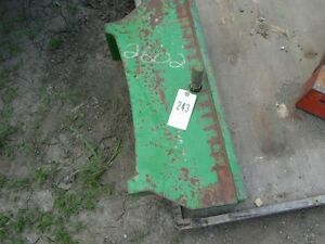 John Deere 6000 Series Tractor Weight Bracket Part L155554ca Tag 243
