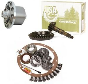 Jeep Wrangler Yj Tj Xj Dana 35 4 56 Ring And Pinion Truetrac Posi Usa Gear Pkg