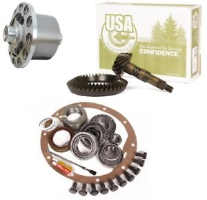 Jeep Wrangler Yj Tj Xj Dana 35 3 73 Ring And Pinion Truetrac Posi Usa Gear Pkg