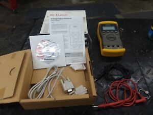 Radio Shack Digital Multimeter 22 812 Dvom Volt Ohm Meter 46 Range