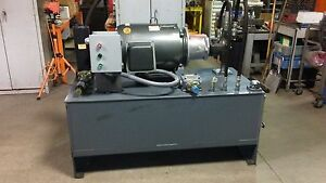 40 Hp Hydraulic Power Supply new