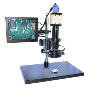 2 0mp Vga Hd Illuminated Digital Industrial Microscope Camera Usb Av Tv Video