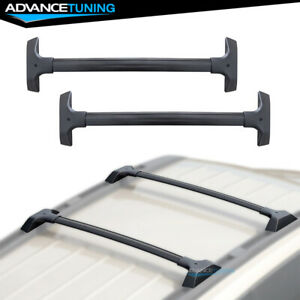 Fits 09 17 Chevy Traverse Oe Style Roof Rack Rail Cross Bar Carrier Set