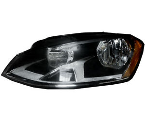 Headlight Assembly W Bulb New Left Driver Side For 15 17 Volkswagen Golf