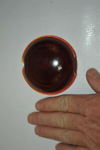 1936 Buick Model 40 Olds 35 36 Pontiac Red Glass Lens Tail Stop Light Cover 1x