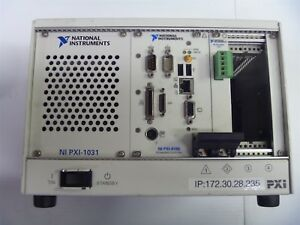 National Instruments Pxi 1031 Chassis With pxi 8186 Pxi 8461