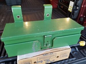 John Deere Tractor Tool Box Plus Bracket For 40 Series 55 Series Tractors More