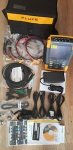 Fluke435 ii Power Quality And Energy Analyzer Set With Probes with Carrying Case
