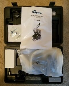 Ioptron St 80 Electronic Microscope With Testing Materials And Carrying Case