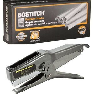 Lot Of 25 Boxes Bostitch B8 Staples 1 4 5 000 box 1 Bostitch 02245 B8 Stapler