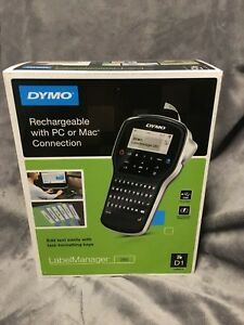 New Dymo Labelmanager 280 Label Maker Rechargeable With Pc Or Mac Free Shipping