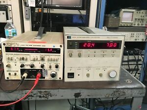 Hp Agilent 6033a 0 20v 0 30a 200w Autoranging Dc Power Supply Load Tested