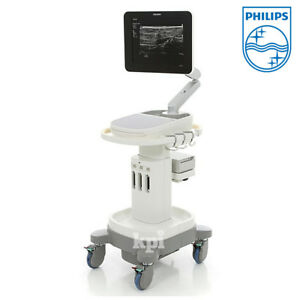 Philips Sparq Ultrasound System Cv Machine Scanner Abdominal Adult Echo Probes