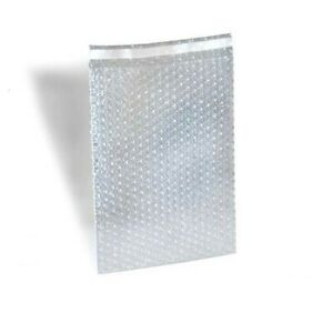 Bubble Out Padded Mailers 4 X 7 5 Clear W High Adhesive Seal Strip 1100 Pcs