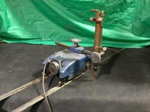 Oxweld Cm 45 Track Torch Machine track Burner With Track And Torch