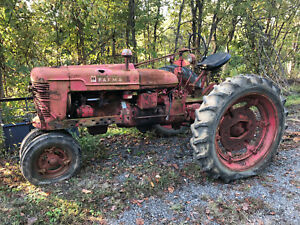 Farmall H Tractor Very Straight And Clean International Super M C A B 340
