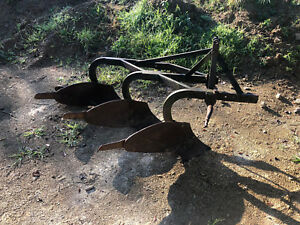 Ferguson 3 Bottom Plow Three Point Hitch For Tractor Deere Kubota Tillage