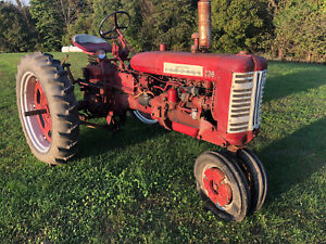 Farmall 230 Tractor With Fast Hitch Nice Shape International C Super 200 Ihc