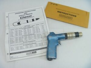 Cleco Clecomatic 4rsapt10 Automatic Shutoff Chuck Pneumatic Air Screwdriver