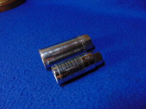 2 Craftsman Usa Spark Plug Sockets 5 8 And 13 16 Rubber Inserts Nice