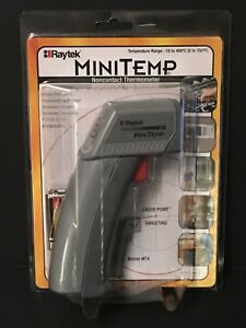 Raytek Mt4 Mini Temp Non contact Thermometer Gun With Laser Sighting