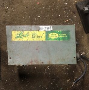 Linde Union Carbide Mig Welder Wire Feed Power Unit As Is Untested