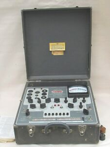 Stark 9 66 Dynamic Mutual Conductance Tube Tester