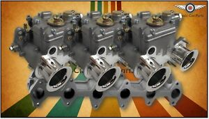 Ford X Flow Alloy Head Fajs Triple 40 Dcoe Weber Sidedraft Carburettor Kit