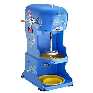 New Professional Tabletop Hawaiian Shaved Ice Machine Ice Shaver Snow Cone Maker